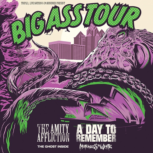THE AMITY AFFLICTION and A DAY TO REMEMBER present BIG ASS TOUR