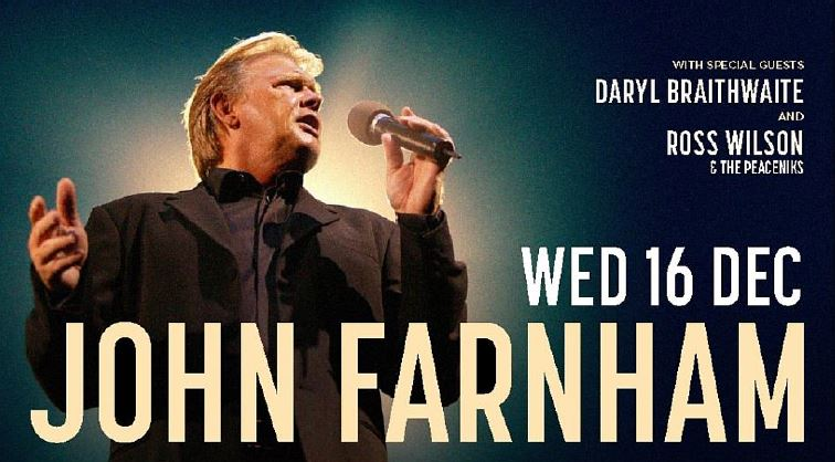 JOHN FARNHAM set to perform for The Last Time at Sydney's Entertainment Centre!
