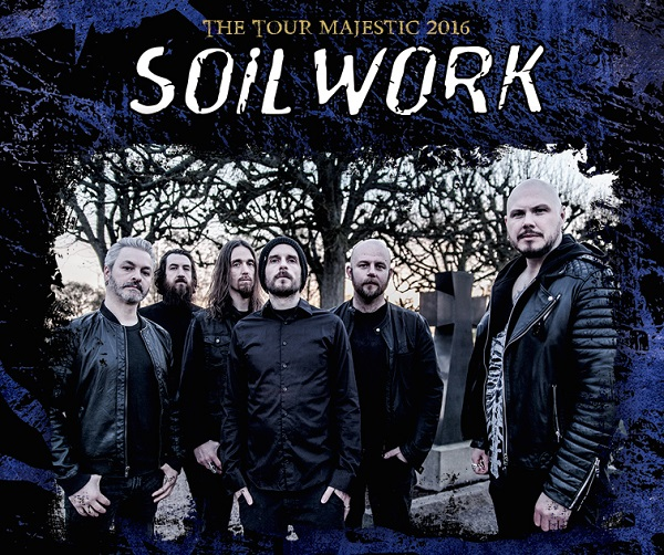 SOILWORK The Tour Majestic 2016