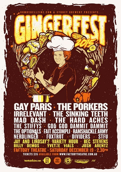 Gingerfest 2015 Full Line-up Announcement!