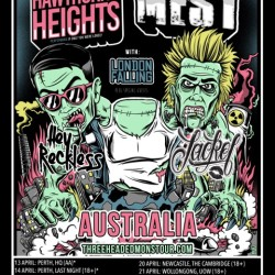 Hawthorne Heights & Mest: Announce National Tour for April