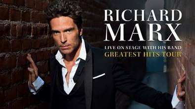 RICHARD MARX announces Greatest Hits Australian Tour