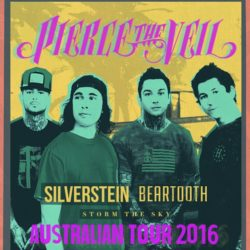 PIERCE THE VEIL – Announce Australian Tour With Silverstein, Beartooth & Storm The Sky