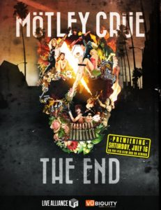 Mötley Crüe: The End – Global Digital Stream Kicks Off at motley.com on July 16/17
