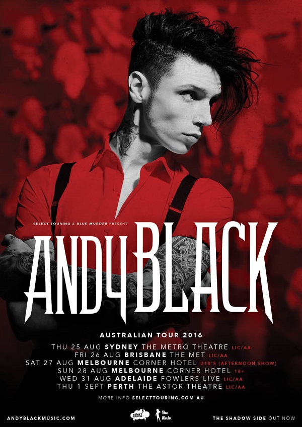 Andy Black poster