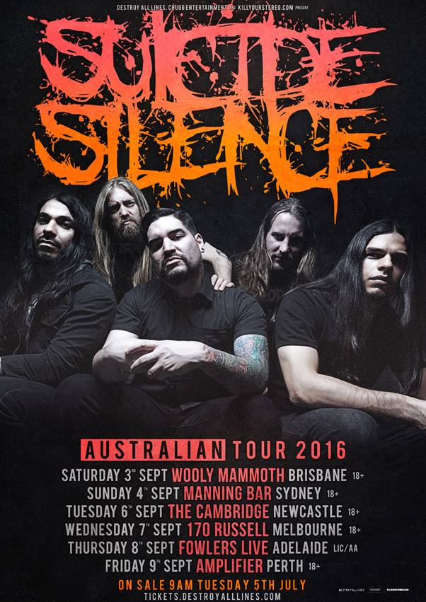 Suicide Silence poster