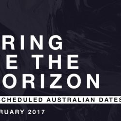 BRING ME THE HORIZON Announcing New Dates For Postponed Adelaide and Melbourne Shows