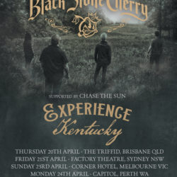 BLACK STONE CHERRY announce Australian tour
