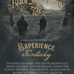 BLACK STONE CHERRY announce Australian tour