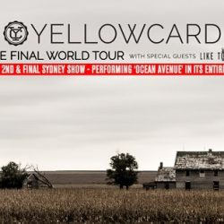 Yellowcard – The Metro Theatre, Sydney – February 19, 2017