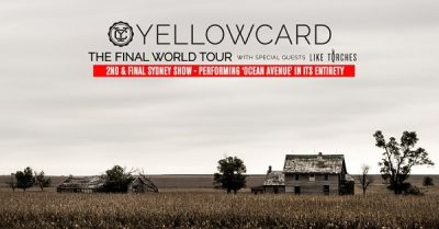 Yellowcard – The Metro Theatre, Sydney – February 19, 2017
