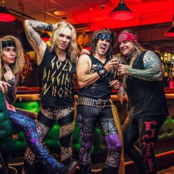 "STEEL PANTHER BRINGS CHRISTMAS EARLY! ""ANYTHING GOES"" SINGLE/VIDEO FROM NEW STUDIO ALBUM:  LOWER THE BAR"