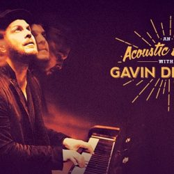 An Acoustic Evening With GAVIN DEGRAW