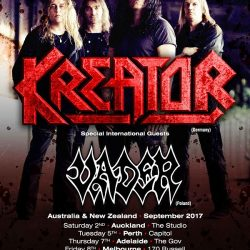 KREATOR With Special Guests VADER Announce Australian & New Zealand Tour