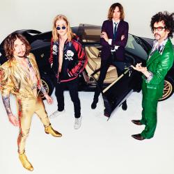 THE DARKNESS to release brand new album, 'Pinewood Smile' on October 6. Listen to new track, 'All The Pretty Girls'