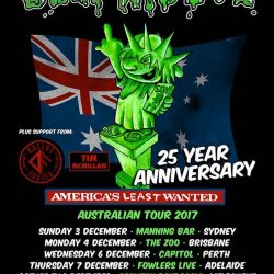 Ugly Kid Joe – The Manning Bar, Sydney – December 3, 2017