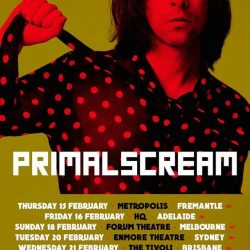 PRIMAL SCREAM Announce Australian Tour