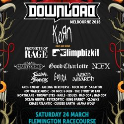 Download Melbourne 2018 Line Up Is Here!