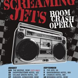 THE SCREAMING JETS & BOOM CRASH OPERA Announce 'ROCK RADIO RIOT' National Tour in August / September 2018