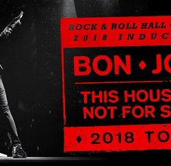 BON JOVI announces This House Is Not For Sale Australian 2018 tour