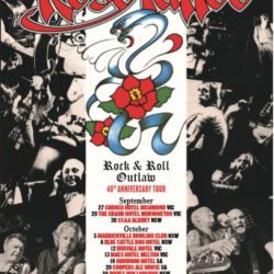 ROSE TATTOO  'Rock N Roll Outlaw – 40th Anniversary Tour'