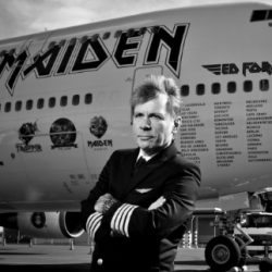 IRON MAIDEN Singer BRUCE DICKINSON Announces Speaking Tour This October