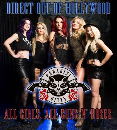 PARADISE KITTY (All Girl L.A. Guns n' Roses Tribute) Announce Australian Tour