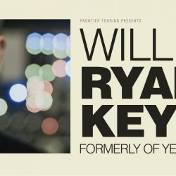 WILLIAM RYAN KEY Former YELLOWCARD Frontman Announces Debut Australian Solo Shows This September