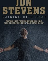JON STEVENS kicks off 2019 with a massive Raining Hits tour playing hits from Noiseworks & INXS