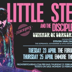 LITTLE STEVEN AND THE DISCIPLES OF SOUL announce Summer Of Sorcery Tour Melbourne & Sydney – April 2019