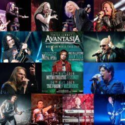 AVANTASIA Announce Cast For May 2019 Australian Tour