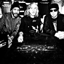KING'S X Rock Legends Enter the Studio to Record First New Album in Over a Decade. New Album Coming this Year via Golden Robot Records