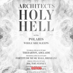 ARCHITECTS Sell Out Sydney – New Show Added – Supports Announced