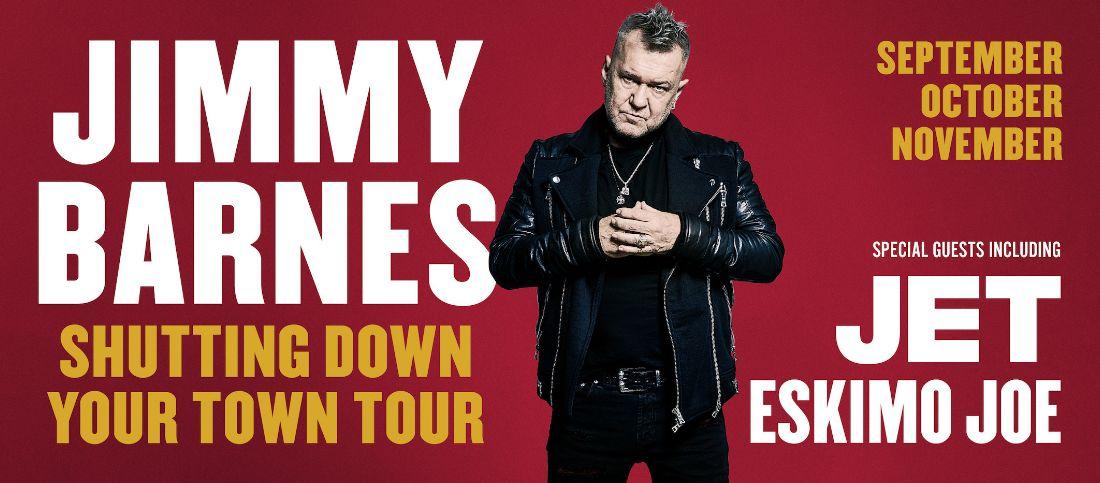 jimmy barnes announces shutting down your town tourjimmy barnes announces shutting down your town tour!