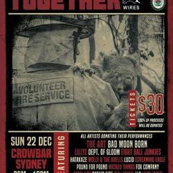 BAND TOGETHER – NSW Rural Fire Service and Wires Benefit Show Presented by Silverback Touring