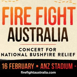 THE FIRST LINE-UP OF ARTISTS ANNOUNCED FOR FIRE FIGHT AUSTRALIA