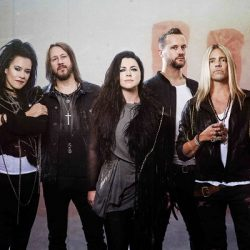 EVANESCENCE Announces First New Album In Nine Years, Shares First Song & Video 'Wasted On You'.