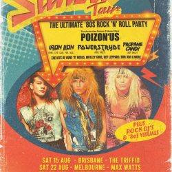 EIGHTIES ON SUNSET 2020 AUSTRALIAN TOUR Announced – The Ultimate '80s Rock 'n' Roll Party