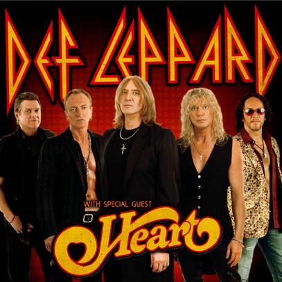Def Leppard & Heart