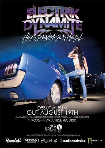 Electrik Dynamite – Hair.Denim.Sex.Metal