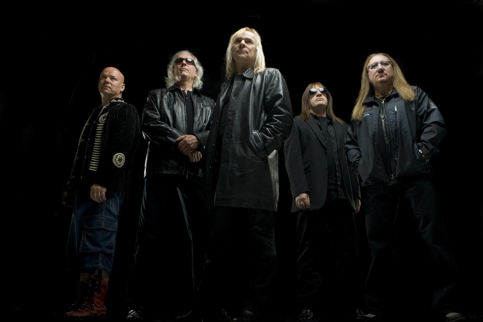 Bernie Shaw of Uriah Heep