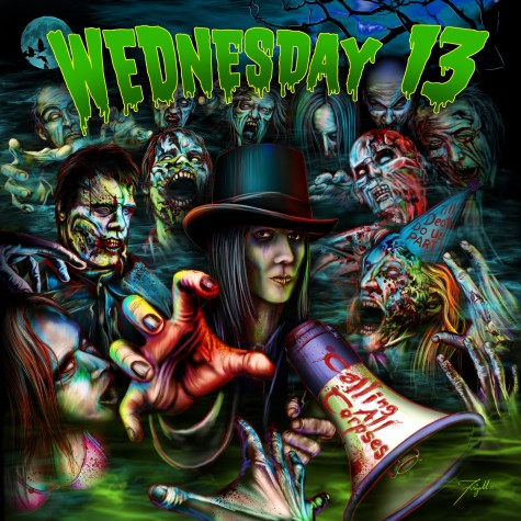 Wednesday 13 – new album details 'Calling All Corpses'