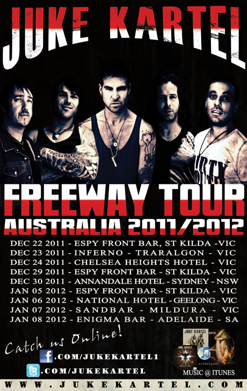 Juke Kartel – Freeway OZ Tour