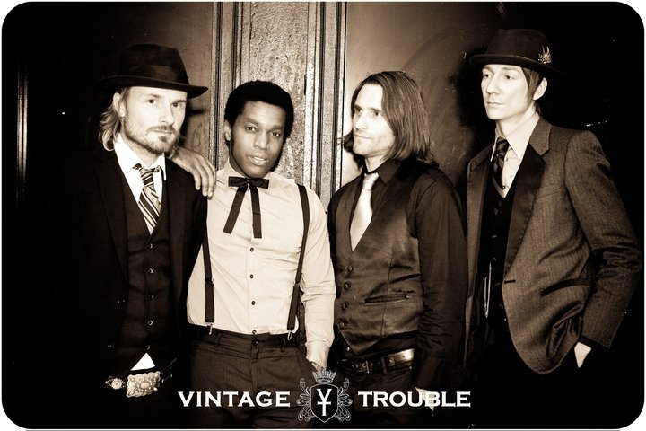 Vintage Trouble are heading to Australia for the first time