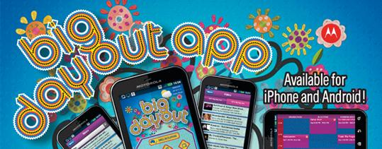 Big Day Out official iPhone App