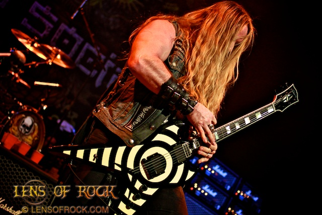 Zakk Wylde's Black Label Society – Soundwave 2012 Sidewave, The Forum