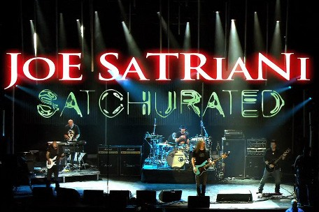 Joe Satriani – One night only 3D HD concert performance screening March 7 in selected cinemas around AUSTRALIA