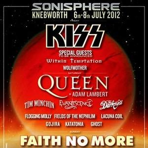 Adam Lambert to join Queen at Sonisphere for a one off show on July 7th 2012