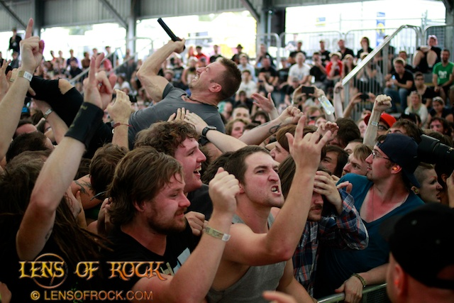 The Dillinger Escape Plan – Soundwave Festival 2012 Melbourne