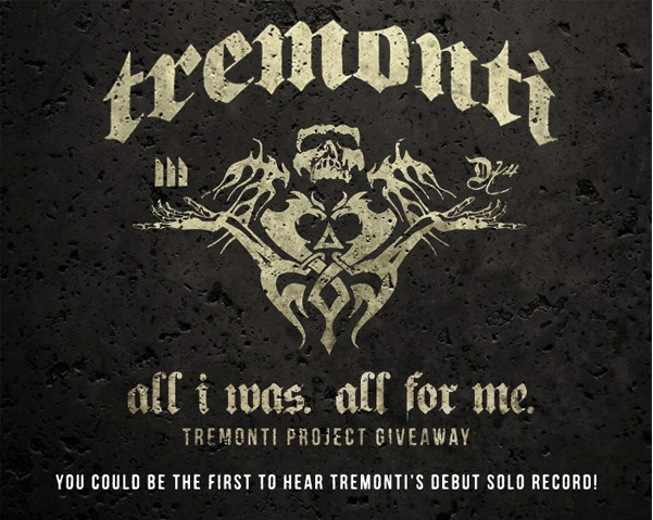 Be the first fan to listen to Mark Tremonti's debut solo album